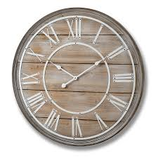 Large Wall Clocks by Large Wooden Wall Clock 80cm Bedroom Furniture Direct