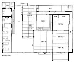 floorplan of a house 13 unique japanese style home plans house plans 51788 japanese