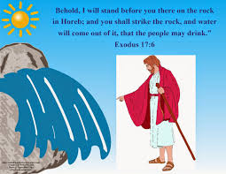 bible fun for kids moses water from a rock u0026 victory over amalekites