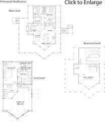 Home Floorplan by Modified Winterpark Log Home Floorplan From Precisioncraft Log