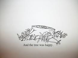 i want this as a quotthe giving treequot shel silverstein a