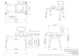 amazon com carousel sliding transfer bench with swivel seat