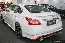 nissan altima 2016 packages nissan teana nismo performance package launched in malaysia