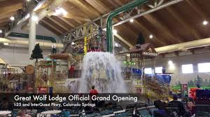great wolf lodge colorado springs is a howling time