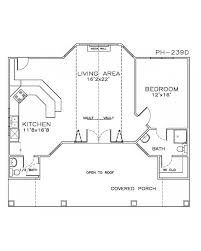 guest cottage floor plans outstanding house plans with attached guest house ideas best