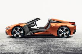 bmw concept i8 doorless bmw i8 roadster concept showcases future tech autocar