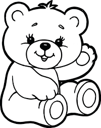 cute polar bear coloring pages pictures brother panda print