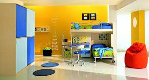 Paint Ideas For Kids Rooms by Decorations Plush Girls Room With Canopy Bed And Colorful Wall