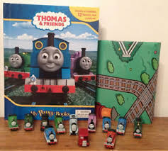 thomas friends busy books 12 character figures