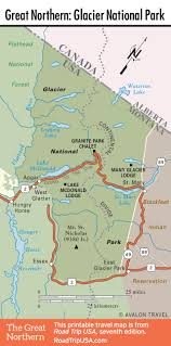 Porcupine Mountains State Park Map by The Great Northern Route Us 2 Road Trip Usa