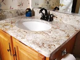 Bathroom Sink  Elegant Bathroom With Vanity Featured Undemount - Bathroom vanity counter top 2