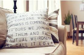 How To Make Sofa Pillow Covers Savvy Housekeeping How To Stencil A Pillow