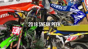 motocross bikes honda preview from twmx and the forum 2018 pre production and works
