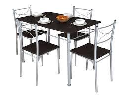 chaise de cuisine alinea table chaise cuisine ensemble table 4 chaises sernan coloris gris
