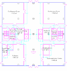 Floor Plan Of Office Building 3a Architectural Ground Floor Plan For Typical Highrise Office