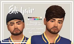 cc hair for sism4 eli hair hi guys i m back with another cc hair stephanine