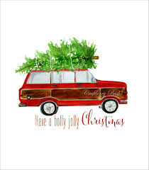 christmas jeep clip art free christmas printable christmas is coming pinterest