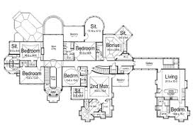 Luxurious House Plans European Style House Plan 7 Beds 9 50 Baths 7618 Sq Ft Plan 119 172