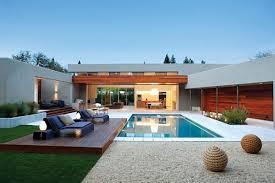 Modern Backyard Modern Pool Design Garden Design