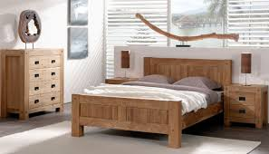 cocktail sacndinave chambre lits 2 places en bois