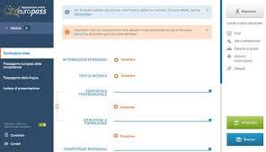 curriculum vitae formato pdf da compilare curriculum vitae europeo da compilare salvatore aranzulla