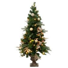 beautiful decoration 4 ft tree to 5 1 2 foot artificial