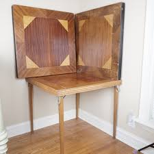 Wooden Folding Card Table Vintage Tables Antique Tables And Retro Tables Auction In