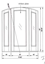 building envelope blog door details at sliding glass and hollow