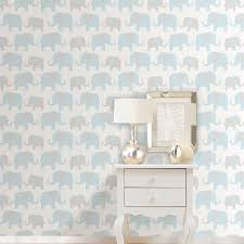 Stick And Peel Wallpaper by Nuwallpaper Elephant Parade Peel U0026amp Stick Wallpaper Grey U0026amp