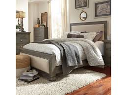 Bedroom Furniture Gulfport Ms Progressive Furniture Willow Queen Upholstered Bed With Distressed