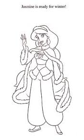 jasmine coloring pages free christmas disney princess coloring pages basteln