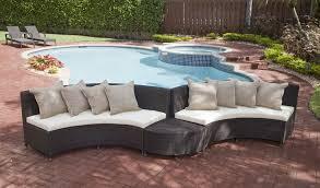 Source Outdoor Patio Furniture Source Outdoor Circa Wicker 1 4 Round Coffee Table Wicker Com