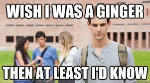 Funny Ginger Meme - best of the soul searching sophomore meme smosh