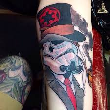 my gentleman stormtrooper done by kevin harden spenard tattoo