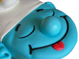 197 best smurf cakes images on pinterest birthday cakes
