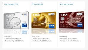 bca gold card tips memilih kartu kredit bank bca online meranti terkini