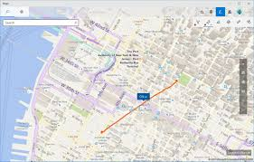 Chelsea Michigan Map how to use windows ink on the maps app on windows 10 windows central