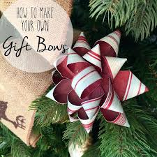 Make Your Own Christmas Decoration - how to make your own gift bows hometalk