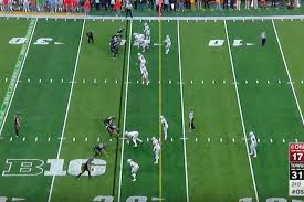 the most humiliating play from iowa u0027s humiliation of ohio state