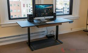 affordable sit stand desk bdi sequel lift desk 6052 review a high end sit stand desk at an