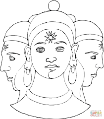 hinduism coloring pages free coloring pages