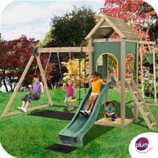 Backyard Play Equipment Australia Buy Plum Kudu Wooden Climbing Frame Outdoor Play Centre