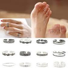 toe rings images 12 piece set adjustable toe rings jpg
