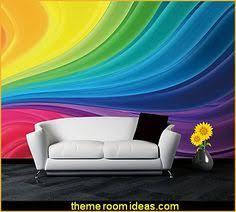 Rainbow Bedroom Decor Rainbow Photo Wall Mural Rainbow Photo Wall Mural Sky U0027s Room