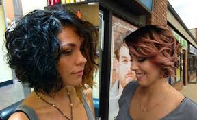 stacked bob haircut pictures curly hair best stacked curly bob haircut images hairstyles stock photos hd