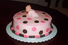 cake ideas for girl simple baby shower cakes for party xyz