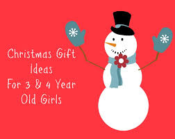 gift ideas for 3 and 4 year
