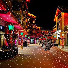 led christmas lights with remote control 2017 simulate led white snow snowfall christmas landscape projection