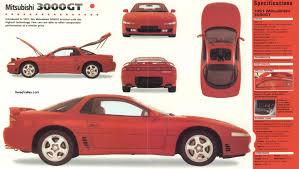 3000gt Torque Specs 1991 Mitsubishi 3000gt Information And Photos Momentcar