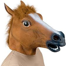 Horse Head Mask Meme - hde creepy novelty horse head meme animal mask cosplay halloween